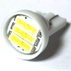 LED Galaxy T10 W5W 3SMD7014 1.0W white