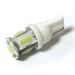 LED Galaxy T10  COB W5W 5SMD white