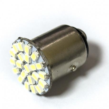 LED Galaxy Р21W 1157 22SMD1206 2.6W white