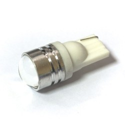 LED Galaxy T10 ( W5W ) HIGH POWER 1PCS 1.5W Lens White (Белый)