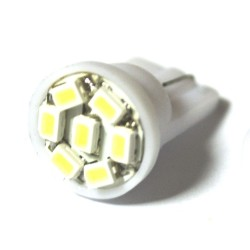 LED Galaxy T10 ( W5W ) 1206 7SMD White (Белый)