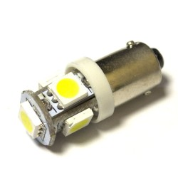 LED Galaxy T4W ( BA9S ) 5050 5SMD White (Белый)