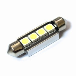 LED Galaxy C5W ( SV8,5 ) CAN 5050 4SMD 41mm White (Белый)