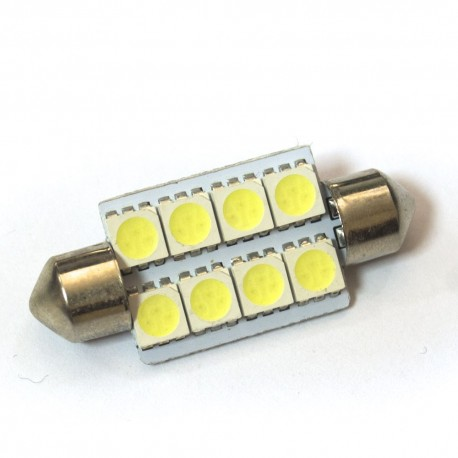 LED Galaxy C5W ( SV8,5 ) 5050 8SMD 39mm White (Белый)