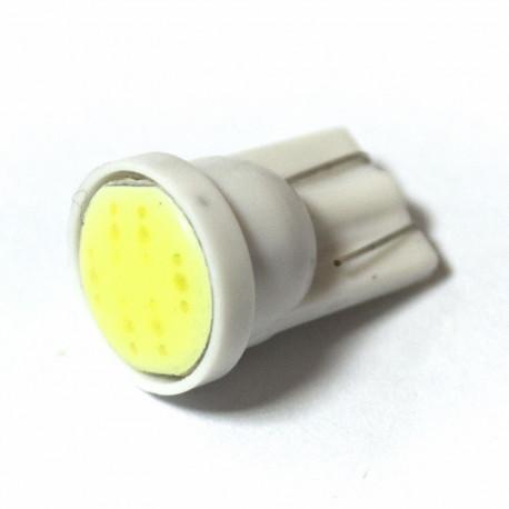 LED Galaxy T10 ( W5W ) COB 1PC 6 chip White (Белый)