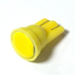 LED Galaxy T10 ( W5W ) COB 1PC 6 chip Yellow (Желтый)