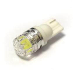 LED Galaxy T10 ( W5W ) HIGH POWER 1PCS 1.5W Floral Lens White (Белый)