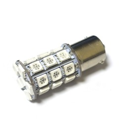LED Galaxy S25 ( P21W 1156 BA15S ) 5050 27SMD Yellow (Желтый)
