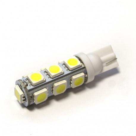 LED Galaxy T10 ( W5W ) 5050 13SMD White (Белый)