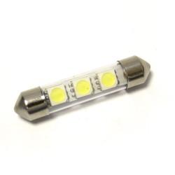 LED Galaxy C5W ( SV8,5 ) 5050 3SMD 39mm White (Белый)