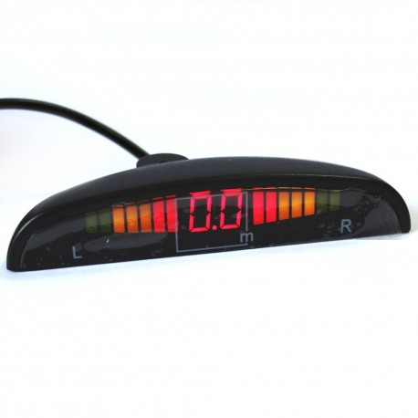 Парковочный радар GALAXY PS08 black 01-LED
