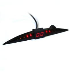 Парковочный радар GALAXY PS08 silver 04-LED