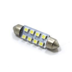 LED Galaxy C5W ( SV8,5 ) 1210 8SMD 41mm White (Белый)