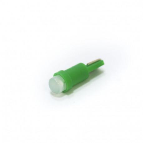 LED Galaxy T5 ( W3W ) COB 1PC 1.0W Green (Зеленый)
