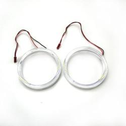 Ангельские глазки LED 95 мм 3014 81SMD White (Белые)