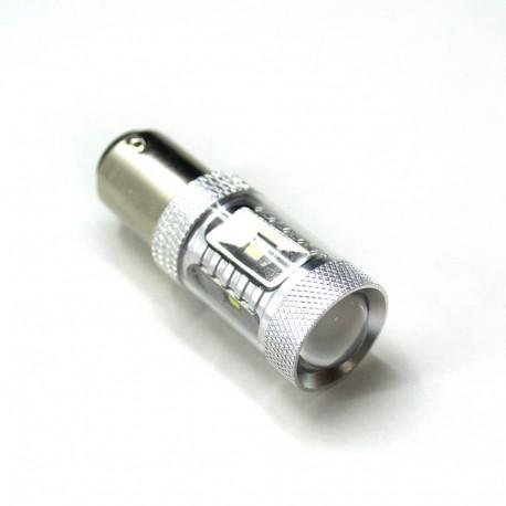 LED Galaxy S25 ( P21W 1156 BA15S ) OSRAM 6PCS 30W White (Белый) Silver shape