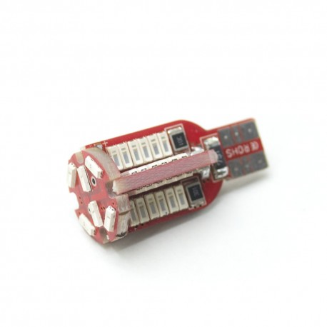 LED Galaxy T15 ( W15W )  CAN SAMSUNG 4014 54SMD Yellow (Желтый)
