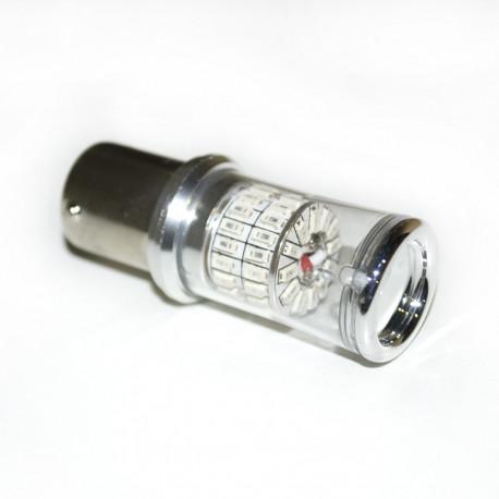 LED Galaxy S25 ( P21W 1156 BA15S ) 3014 48SMD Red (Красный)