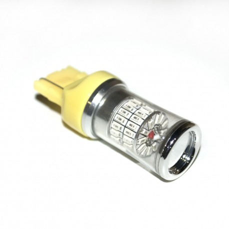 LED Galaxy T20 ( W21W 7440 W3x16d) 3014 48SMD Yellow (Желтый)