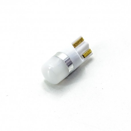 LED Galaxy T10 ( W5W ) 3030 1SMD Matte White (Белый)