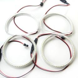 Ангельские глазки Mazda 3 (04-09) SMD White (Белые)