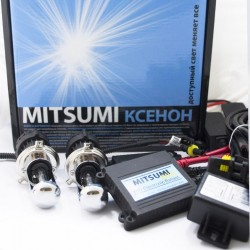 Комплект биксенона Mitsumi DC H4bi 6000k