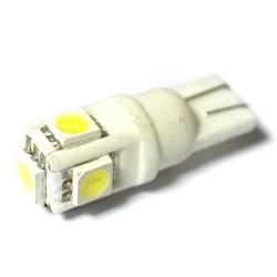 LED Galaxy T10 ( W5W ) CERAMIC 5050 5SMD White (Белый)
