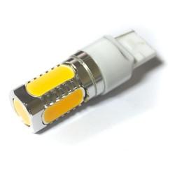 LED Galaxy T20 ( W21W 7440 W3х16d ) HIGH POWER 5PCS 7.5W Yellow (Желтый)