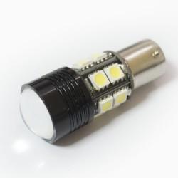 LED Galaxy S25 ( P21W 1156 BA15S ) CREE Lens + 5050 12SMD 5.0W White (Белый)