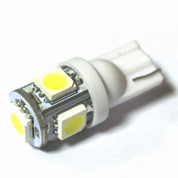 LED Galaxy T10 W5W 5SMD 1.0W white