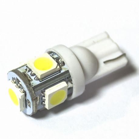 LED Galaxy T10 W5W 5SMD 1.0W white