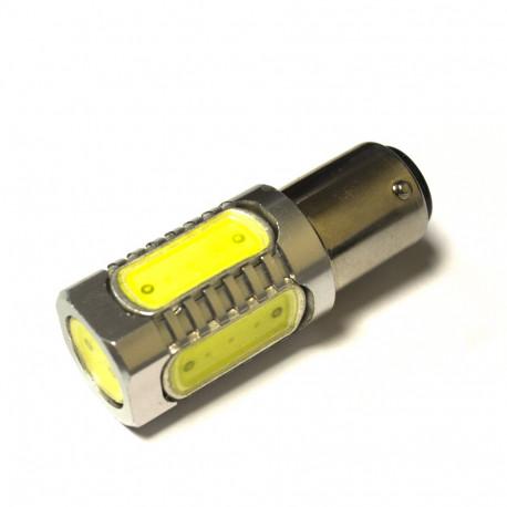 LED Galaxy S25 ( P21-5W 1157 BA15d ) HIGH POWER 5PCS 7.5W White (Белый)