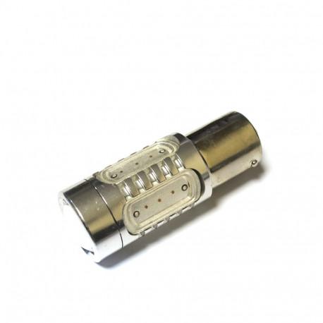 LED Galaxy S25 ( P21W 1156 BA15S ) HIGH POWER 5PCS 7.5W Yellow (Желтый)