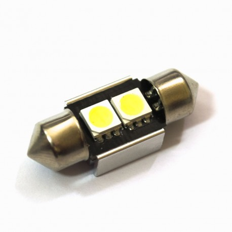 LED Galaxy C5W ( SV8,5 ) CAN 5050 2SMD 31mm White (Белый)