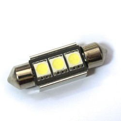 LED Galaxy C5W ( SV8,5 ) CAN 5050 3SMD 36mm White (Белый)