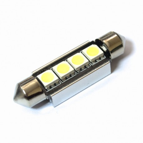 LED Galaxy C5W ( SV8,5 ) CAN 5050 4SMD 39mm White (Белый)