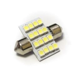 LED Galaxy C5W ( SV8,5 ) 1210 16SMD 31mm White (Белый)