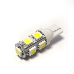 LED Galaxy T10 ( W5W ) 5050 9SMD White (Белый)