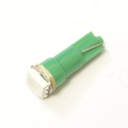 LED Galaxy T5 ( W3W ) 5050 1PC Green (Зеленый)