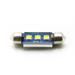 LED Galaxy C5W ( SV8,5 ) CAN CREE 3535 3SMD 39mm White (Белый)