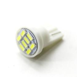 LED Galaxy T10 ( W5W ) SAMSUNG 3014 8SMD White (Белый)