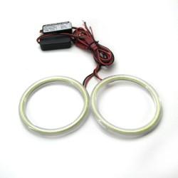 Ангельские глазки LED 80 мм COB White (Белый)