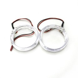 Ангельские глазки LED 80 мм CREE 3535 2SMD White (Белый)