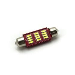 LED Galaxy C5W ( SV8,5 ) 4014 12SMD 41mm White (Белый)