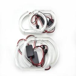Ангельские глазки BMW (E90,Е92) CRYSTAL White (Белые)