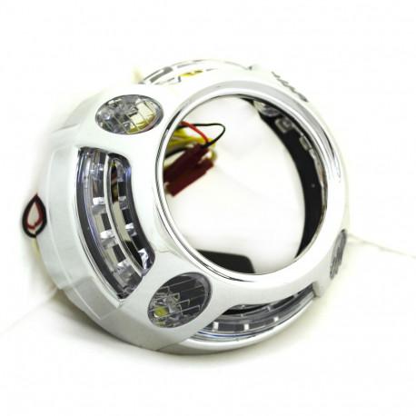 """Маски 2,8"""" Panamera DRL LED White CREE"""