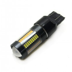 LED Galaxy T20 ( W21-5W 7443 W3х16q ) 4014 66SMD White-Yellow (Белый-Желтый)
