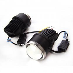 """Противотуманные линзы BiLED Lens Galaxy Black 2,5"""" 4300К"""