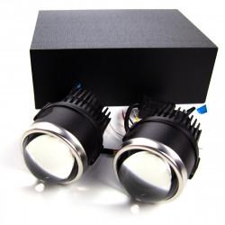 """Противотуманные линзы BiLED Lens Galaxy Black 2,5"""" 5500К"""