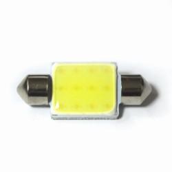 LED Galaxy C5W ( SV8,5 ) COB 1PCS 12 chip 36mm White (Белый)